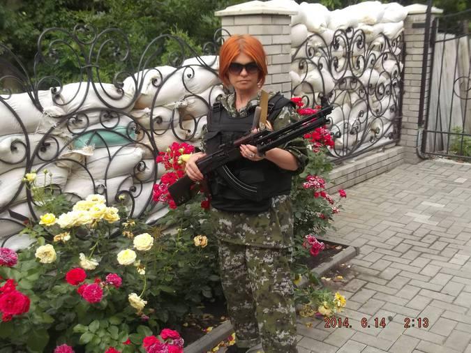 Ксения Шкода, ополченка Ново…