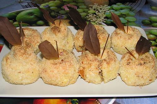 Картофельные фрукты !!! танцы от плиты до компа!!! красивый гарнир на Новый год!!!
