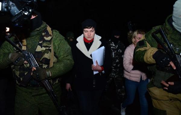 ВСУ нанесли удар поДНР после приезда туда Надежды Савченко