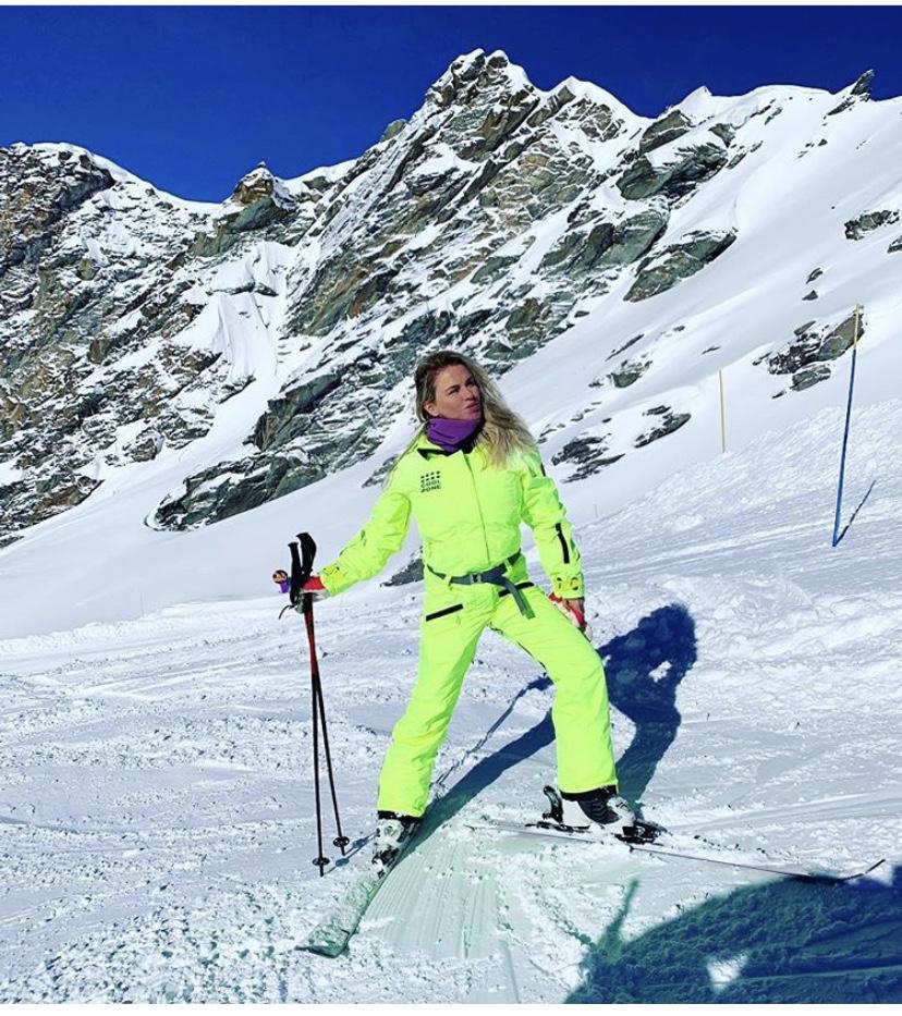Анна Семенович покоряет горн…