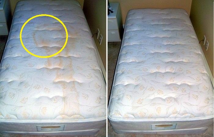 Как быстро и легко почистить матрас, даже когда очень лень