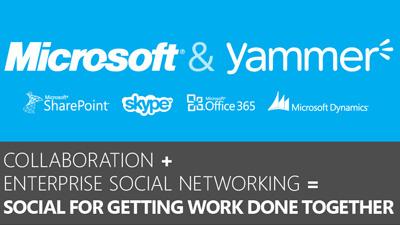 Microsoft купила соцсеть Yammer за $1,2 млрд
