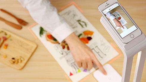 SnapLite - настольная лампа-сканер для iPhone от PFU