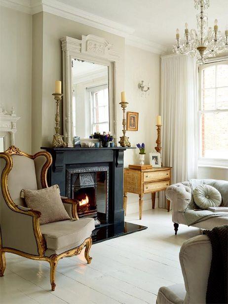 Кресло с пружинной основой - одно из новшеств викторианского стиля