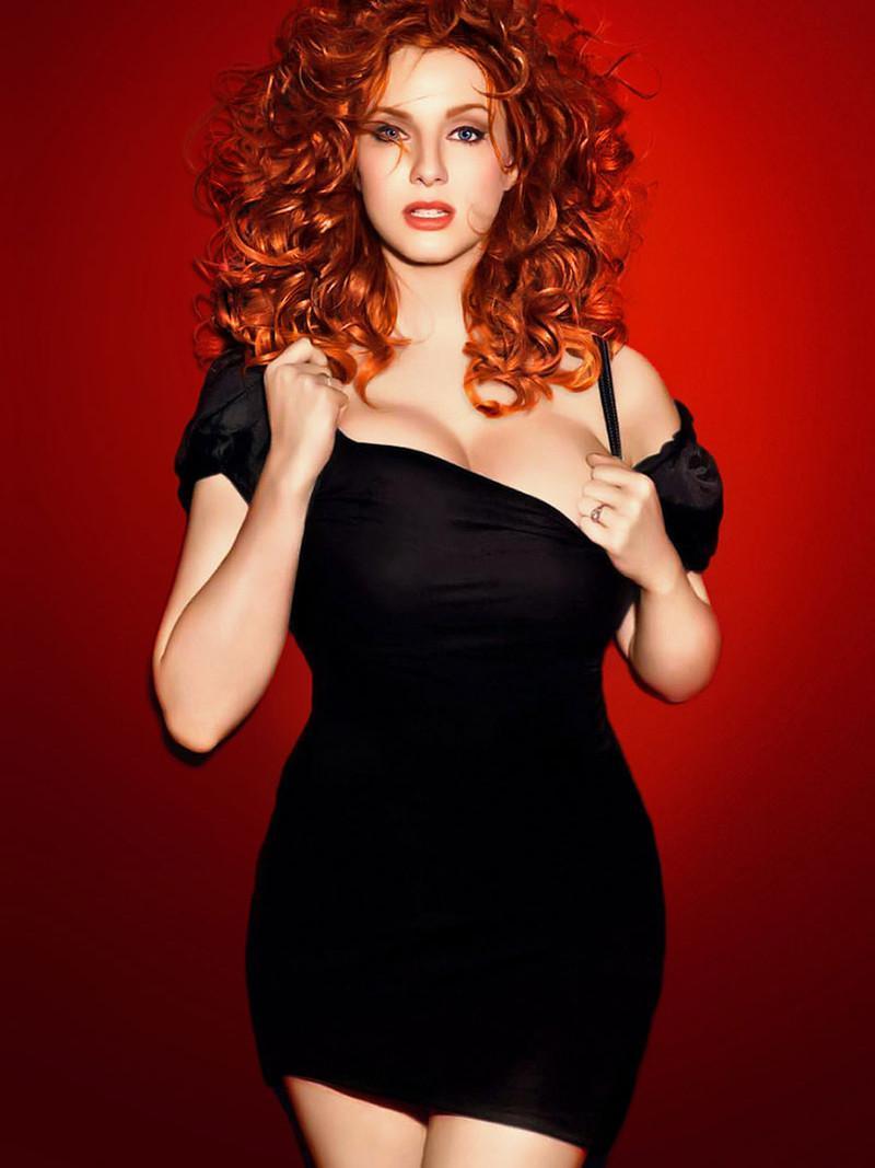 Самые красивые фото рыжих волос