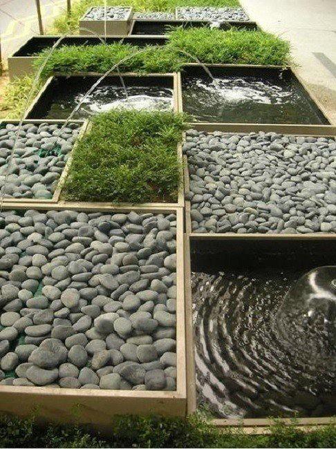 Необыкновенная идея для фонтана