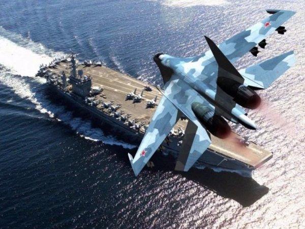 Русские самолеты открыли «охоту» на американские корабли в Черном море