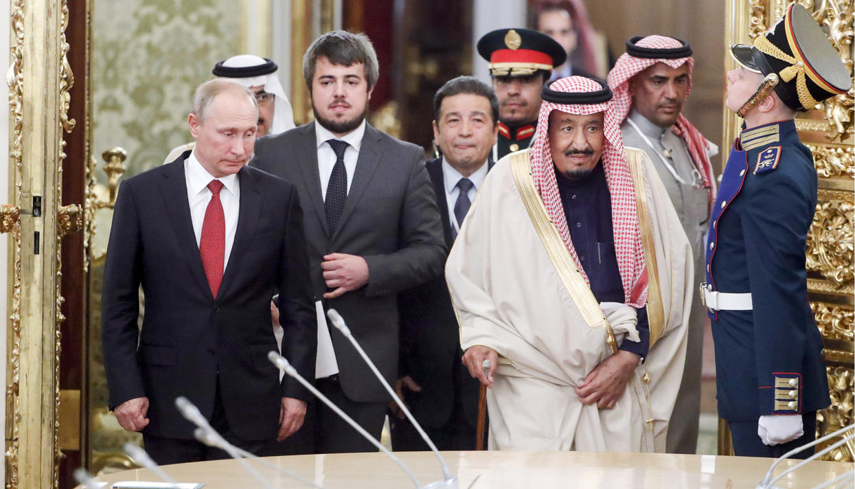 Цену на нефть теперь контролирует не ОПЕК, а Путин: Bloomberg