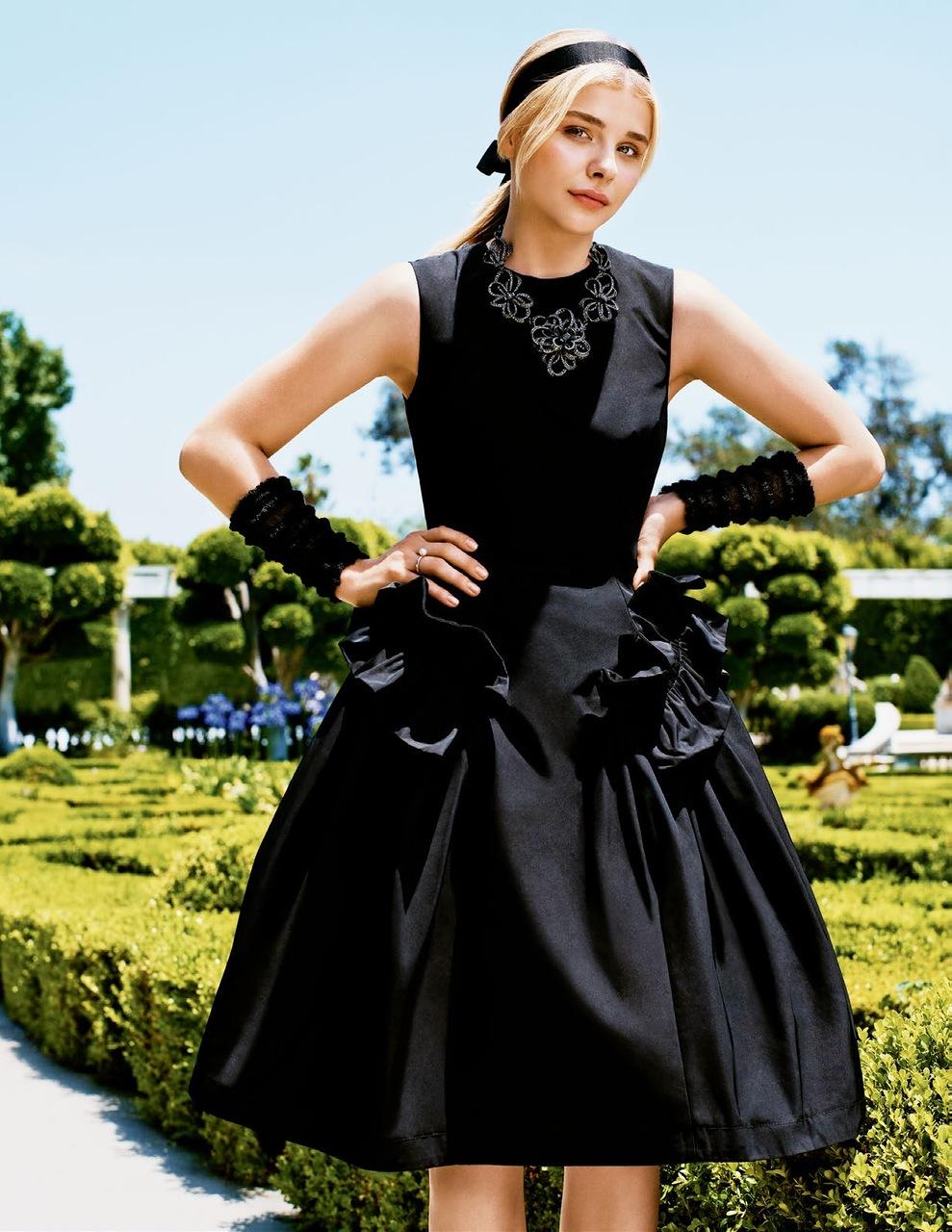 Фотосессия Chloe Moretz (Teen Vogue, октябрь 2014)