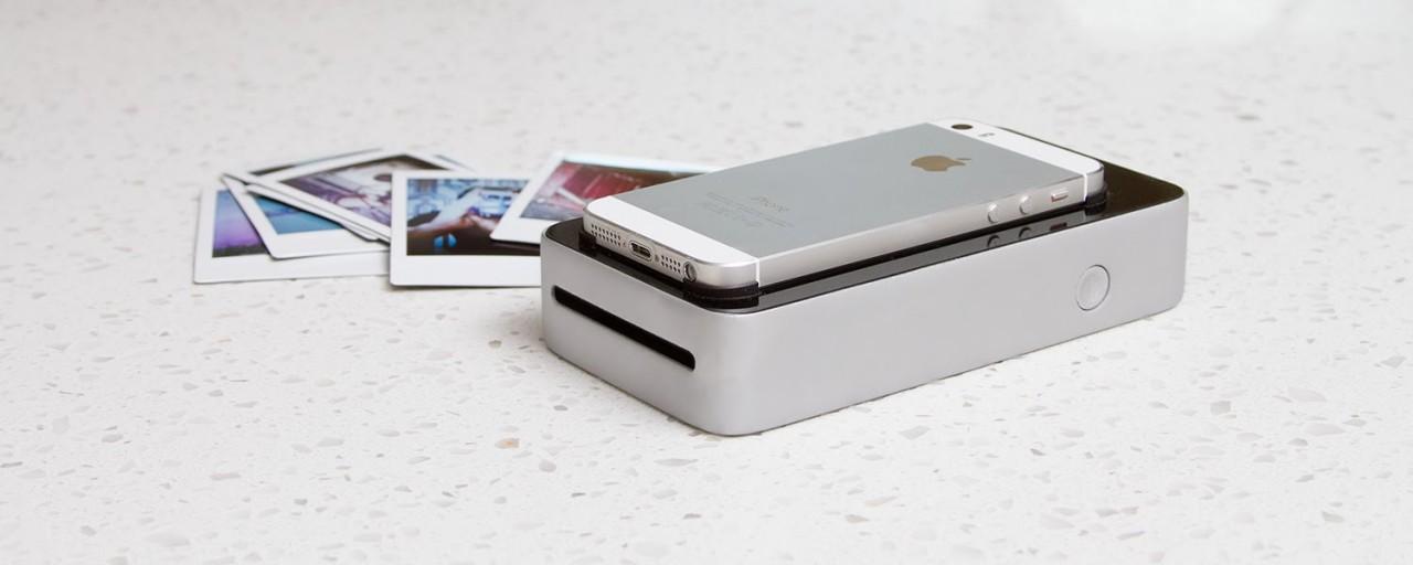 SnapJet: карманный принтер, печатающий фотографии с экрана смартфона