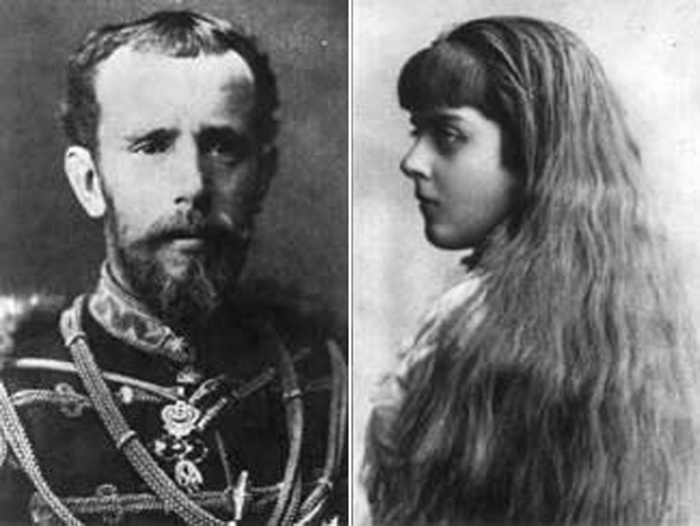 Кронпринц Рудольф и его любовница Мария Вечера