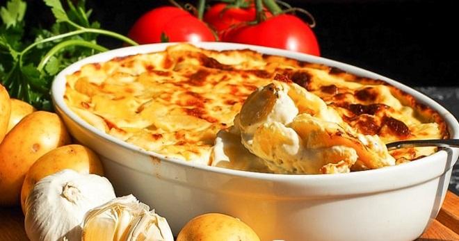 Картошка с сыром в духовке - лучшие идеи для приготовления вкусных сытных блюд