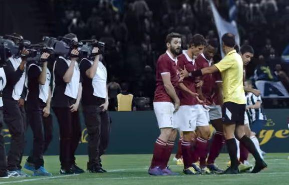 Как снимают футбол