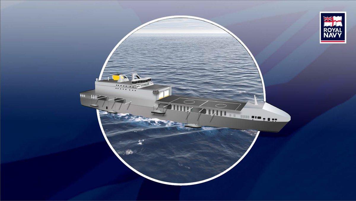 Великобритания переоборудует коммерческие суда в амфибийные боевые корабли нового типа