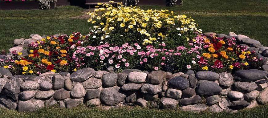 Мельница из камней для сада своими руками 665