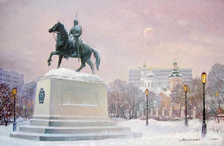 Оренбург в красках. Картины Ольги Нагорной