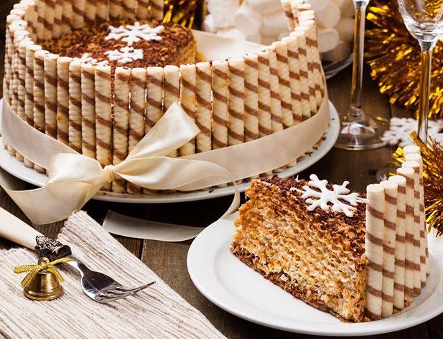 Три домашних торта к новогоднему столу