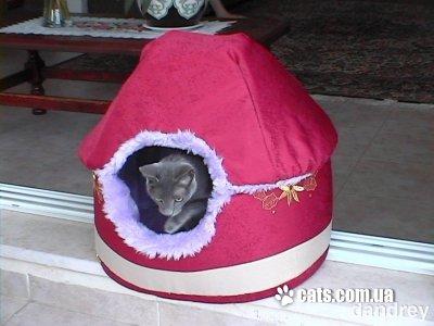 Замечательный домик-кроватка для любимца