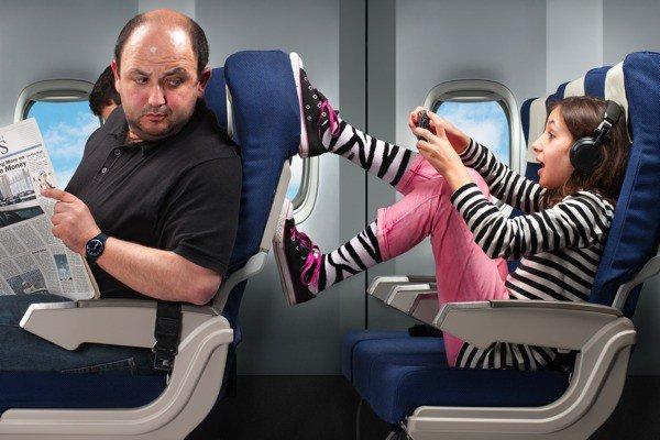 Как путешествовать с детьми на самолете в тишине и покое