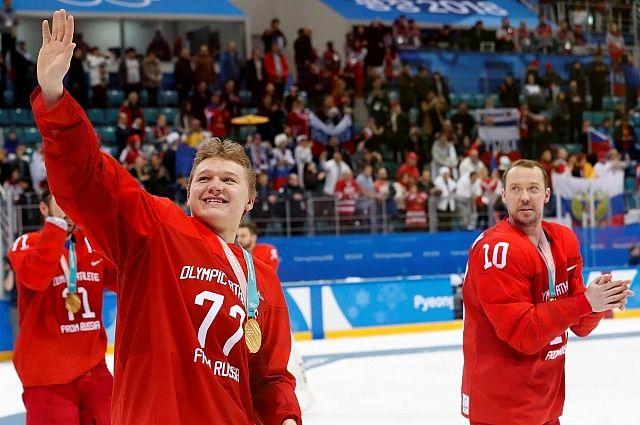 Финальный матч по хоккею на ОИ-2018 посмотрели более 16,8 млн россиян