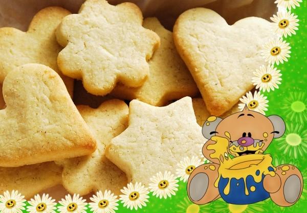 Рецепт печенья на сметане быстро и вкусно без масла