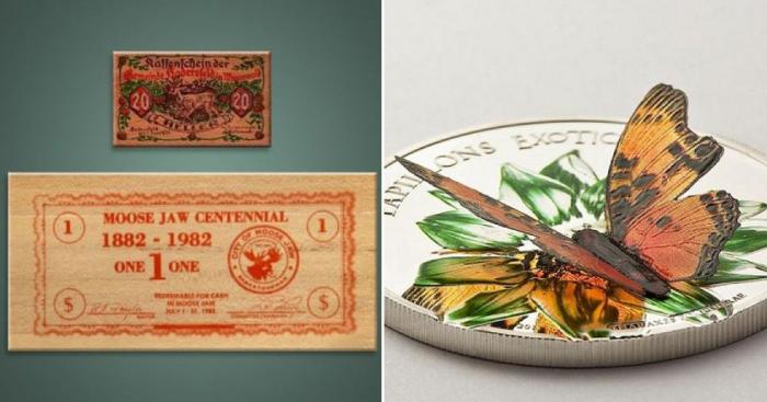 Говорящие монеты, деньги с коноплей и другие странные платёжные средства в истории человечества