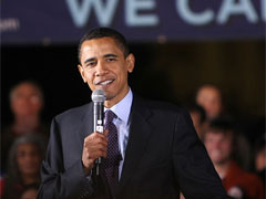 Обама никогда не обновлял свой статус в Twitter