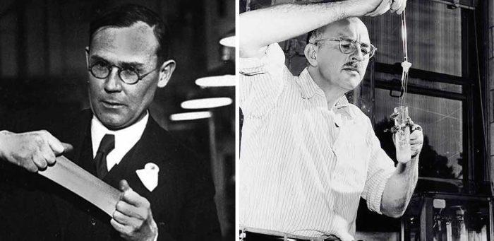 Уоллес Карозерс - американец, который создал нейлон.