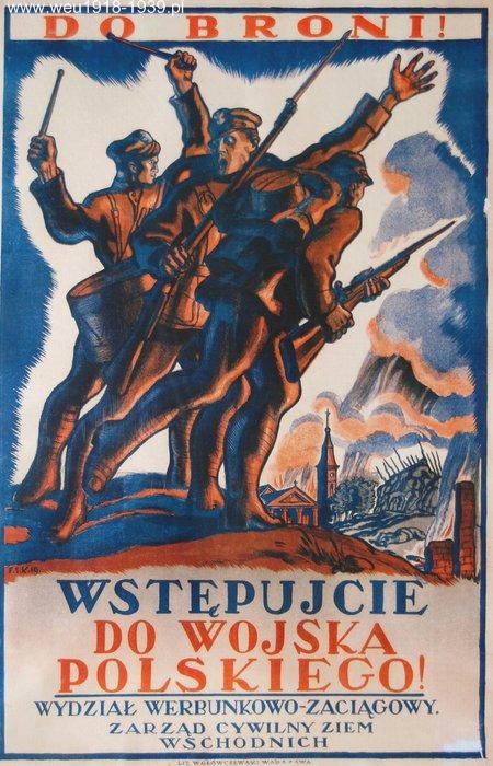 К оружию! Вступай в Войско Польско!