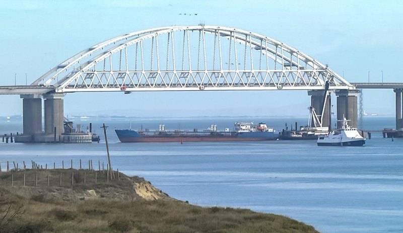Украина захватила российский танкер