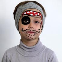"""Детская территория. Дарим детям праздник. Аквагрим """"Пират"""""""
