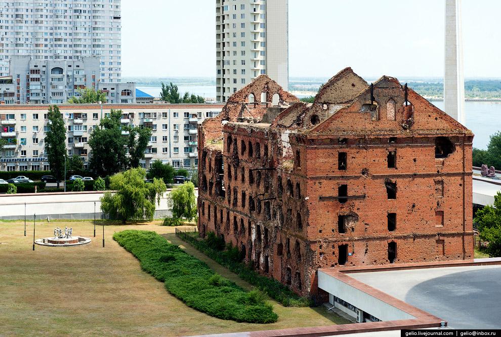 Руины паровой мельницы Грудинина