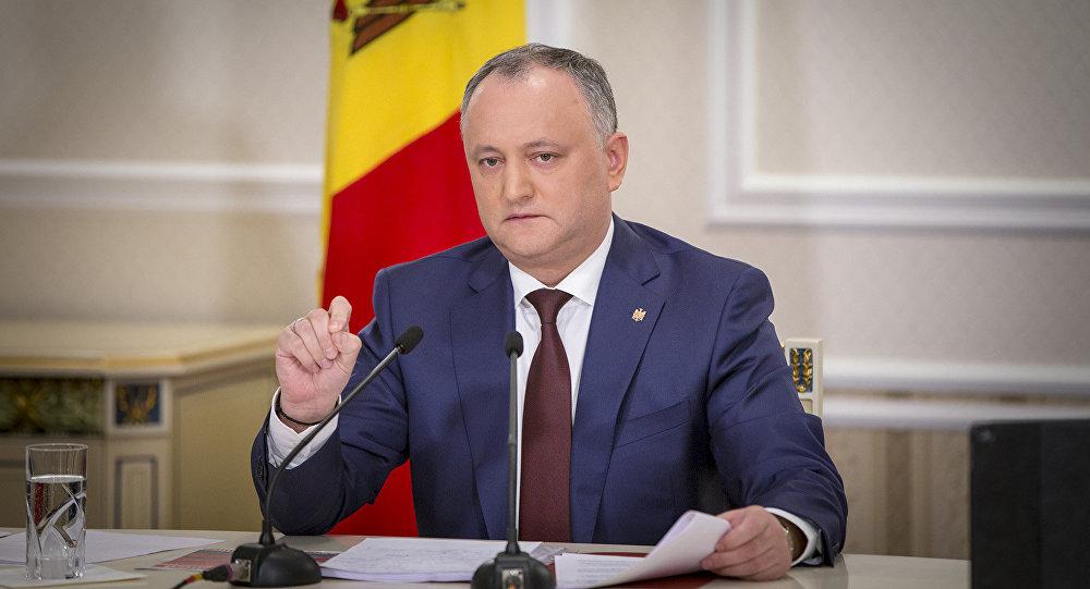 Додон рассказал о динамике отношений Молдавии и России