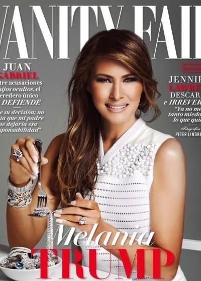 Первая обложка первой леди: Меланья Трамп снялась для испанского глянца