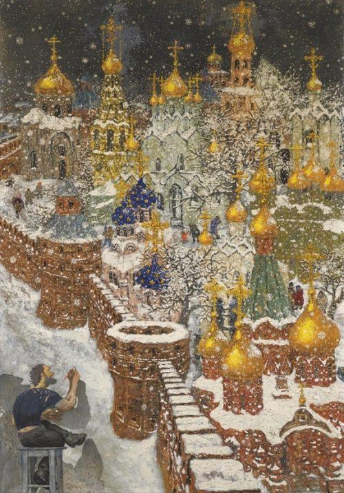 художник Василий Ситников картины - 16