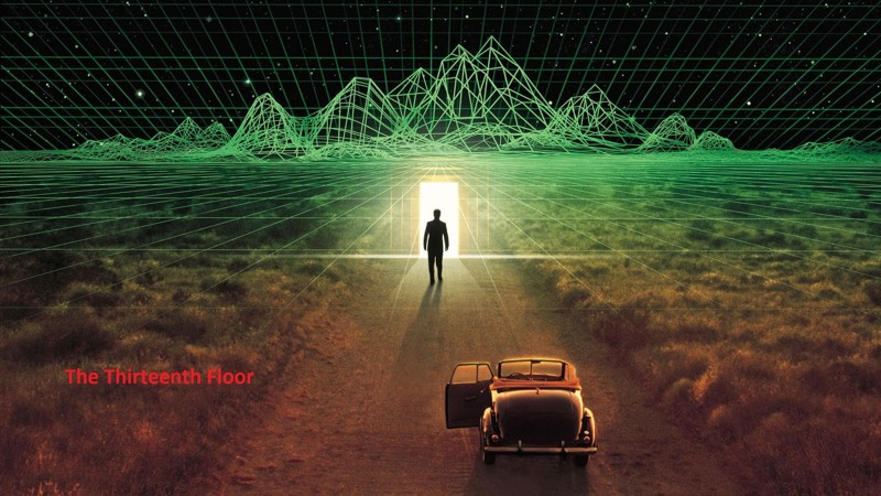 Тринадцатый этаж (1999) кино, компьютеры, технологии, фильмы