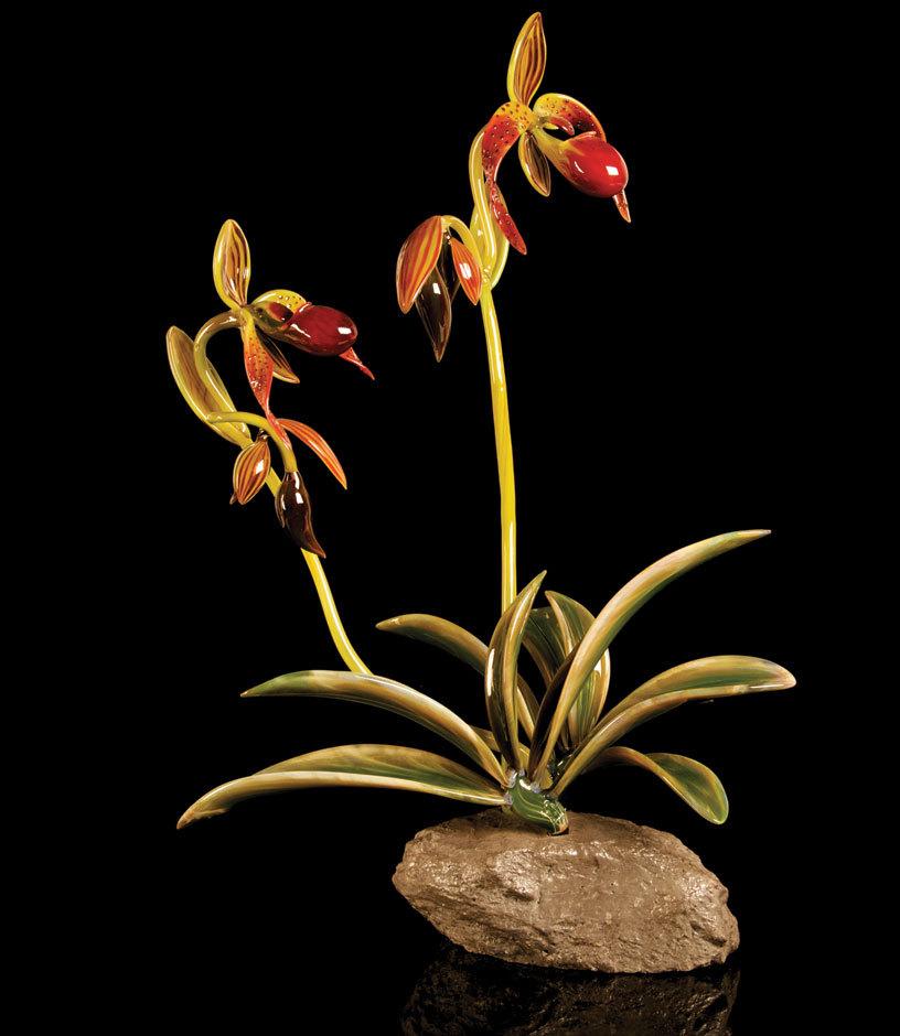Лучший в мире художник-стеклодув Ганс Годо Фрабель.
