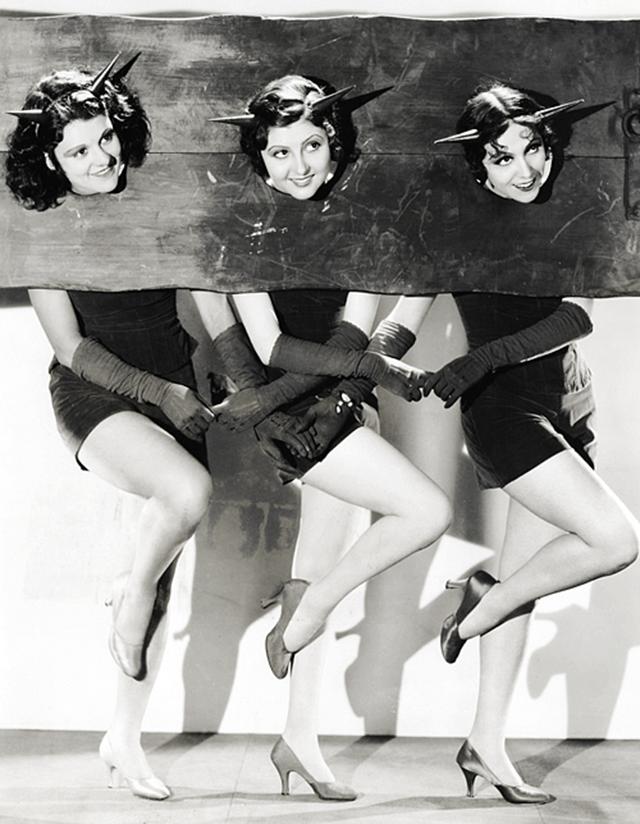 Фотографии голливудских актрис в костюмах на Хэллоуин в 1930-е годы