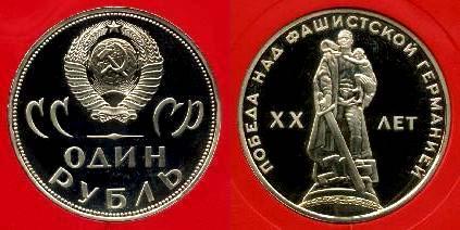 Памятные и юбилейные монеты СССР  из медно-никелевого сплава (продолжение)