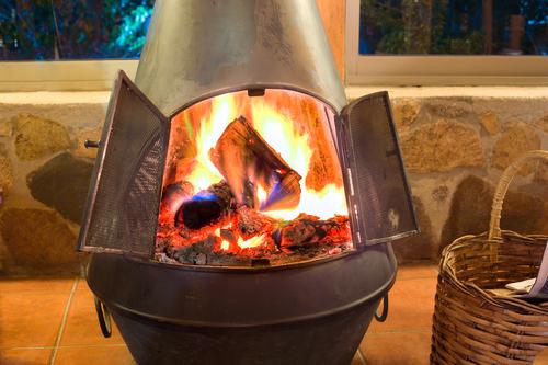 Самая простая печка для обогрева