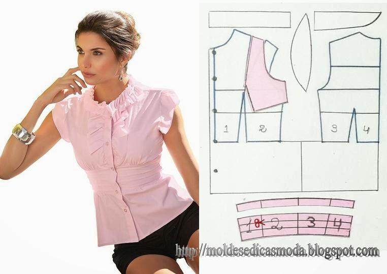 Как сшить блузку фасоны