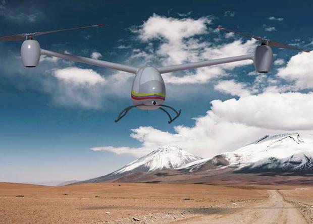 Американцы спроектировали способный висеть сутки беспилотный вертолет