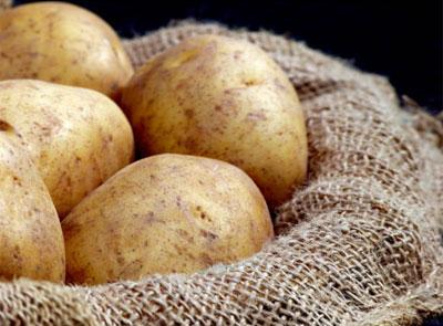 Картофель для глаз, маски