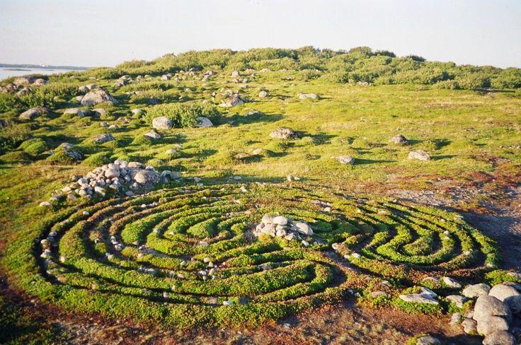 Загадочные древние лабиринты