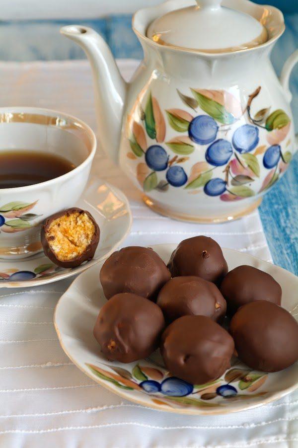 Конфеты тыквенные в шоколаде