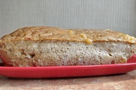 Фото к рецепту: Мясной хлеб с сыром