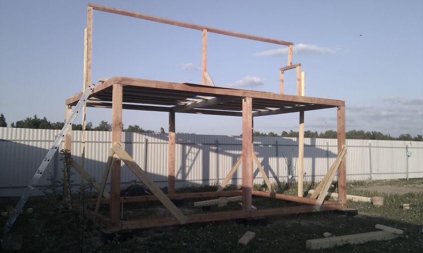 Как быстро построить летний домик своими руками