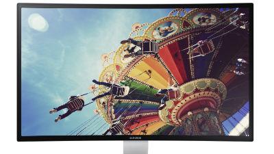 Samsung анонсирует первый в мире изогнутый Full-HD монитор