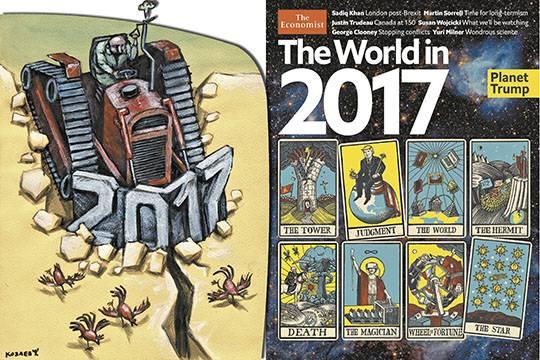 Огненный петух клюнет: Чего ждать в наступившем году России и миру