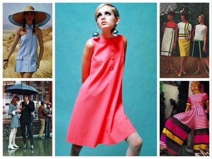 Кричащая мода 1960-х.
